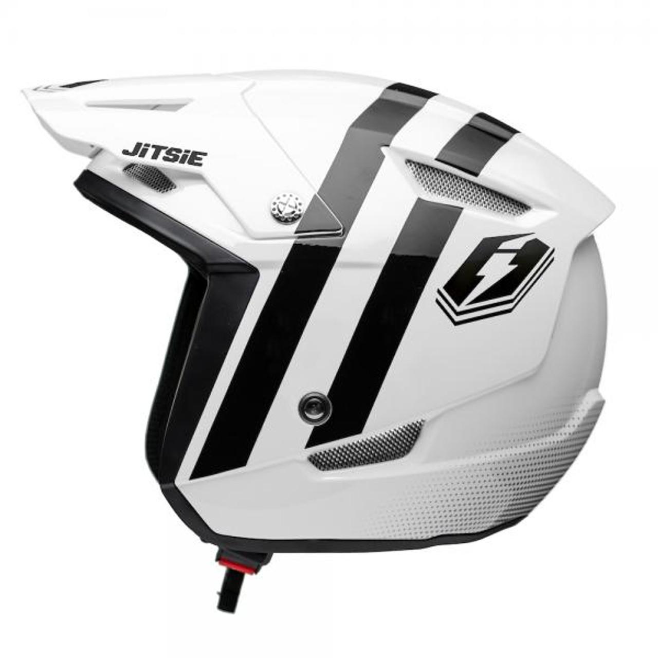 Helmet HT1 Voita white/black