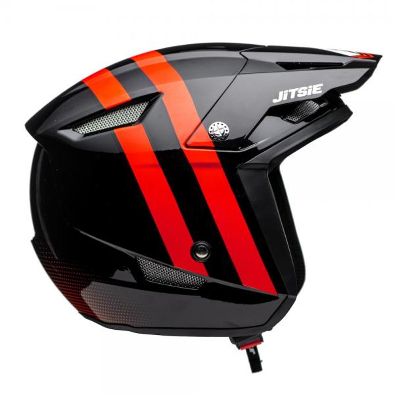Helmet HT1 Voita, black/ red
