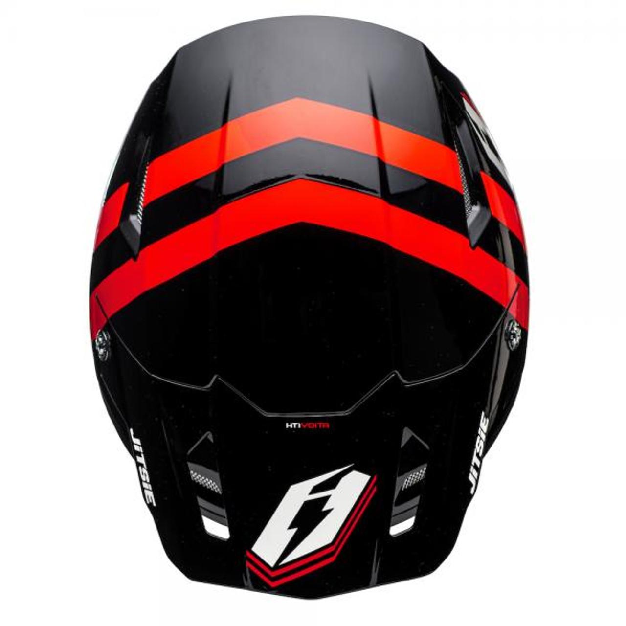 Helmet HT1 Voita black/ red