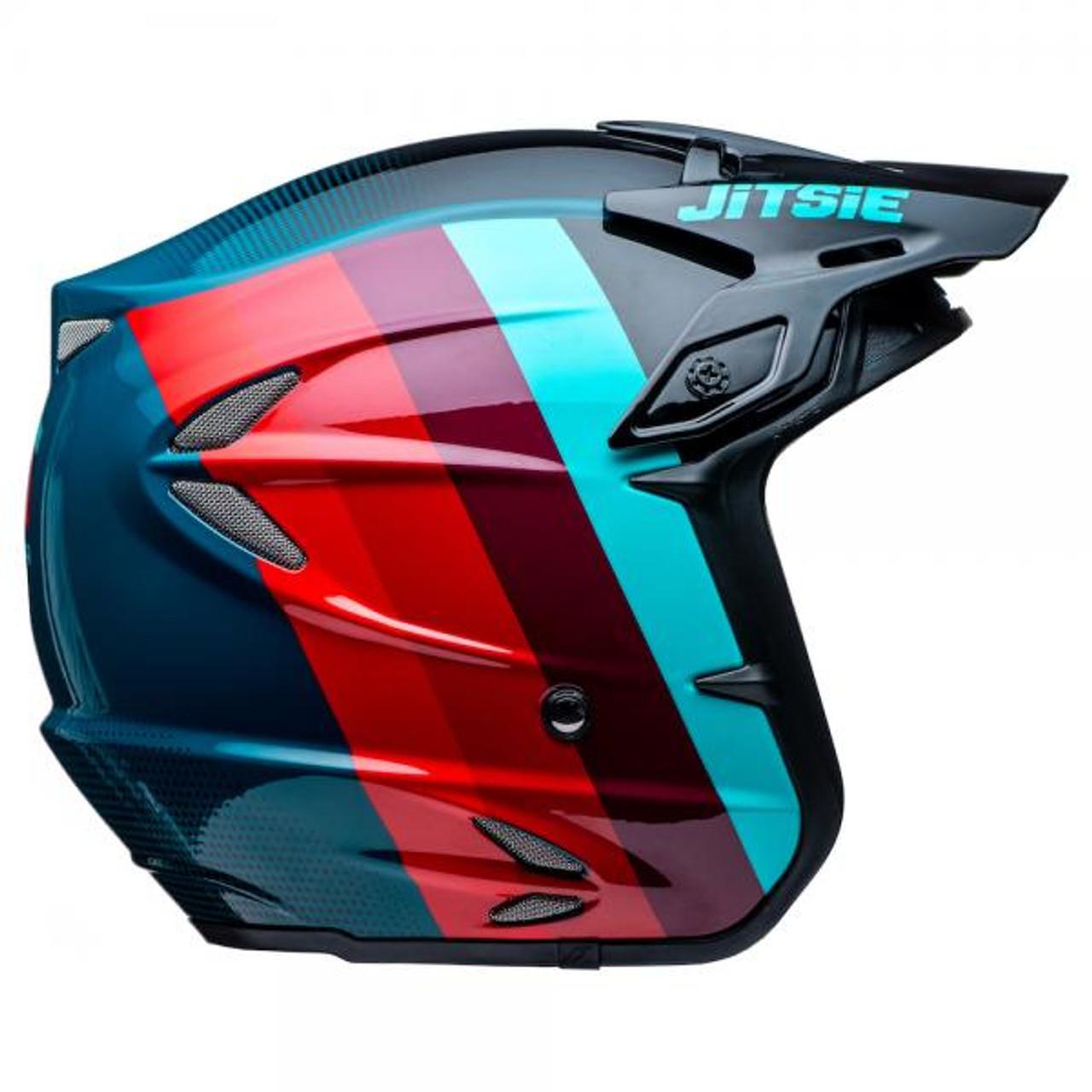 Helmet HT2 Voita black/red/blue
