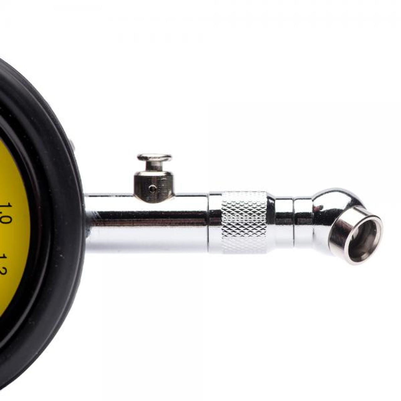 Analog tire pressure meter with valve 0- 15PSI