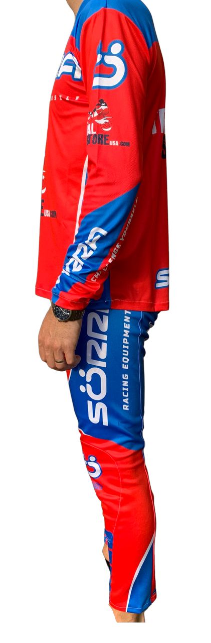 Pants Beta Racing blue/red