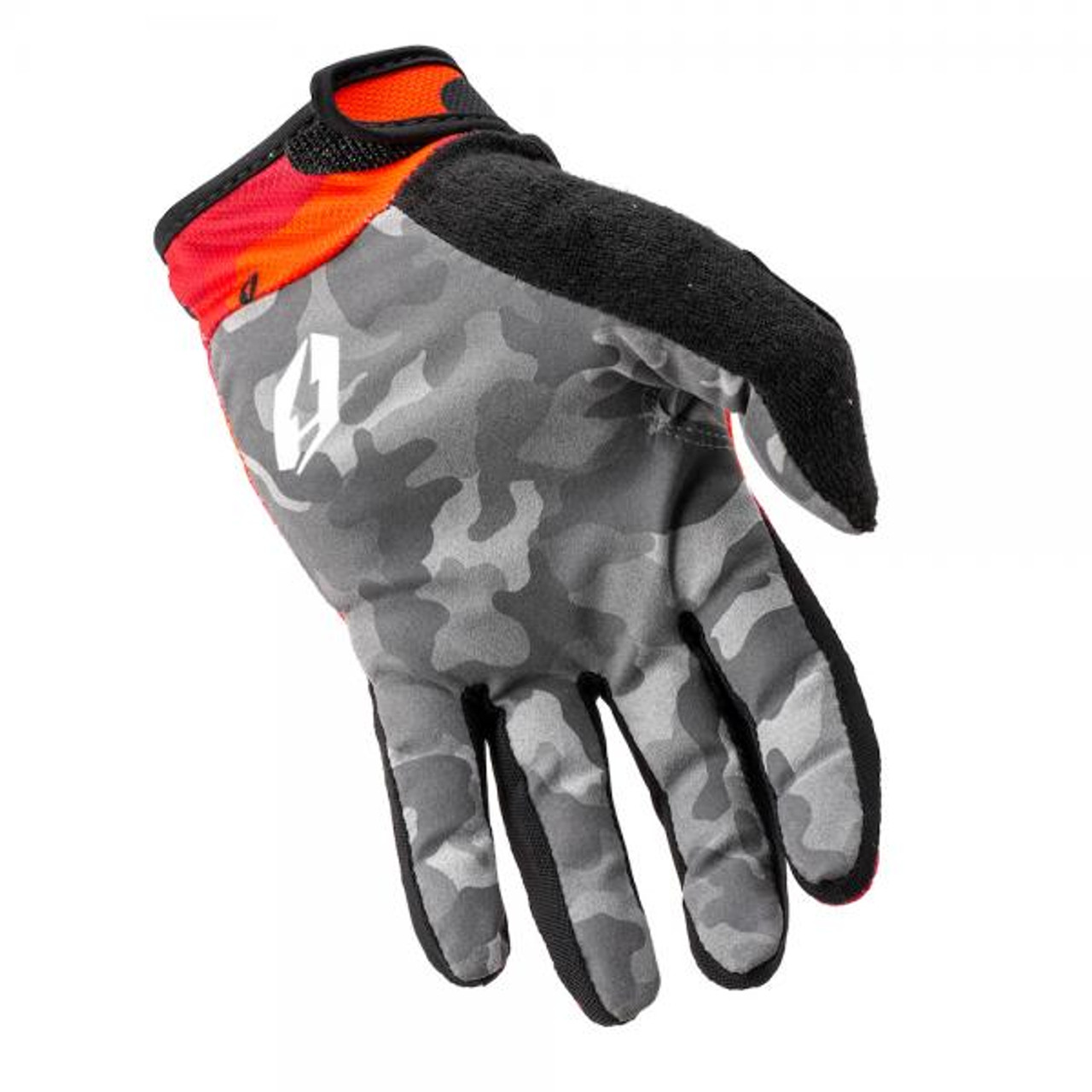 Gloves G3 Core Camo, red