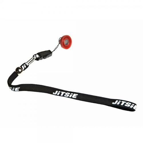 Magnetic lanyard for engine kill button, black