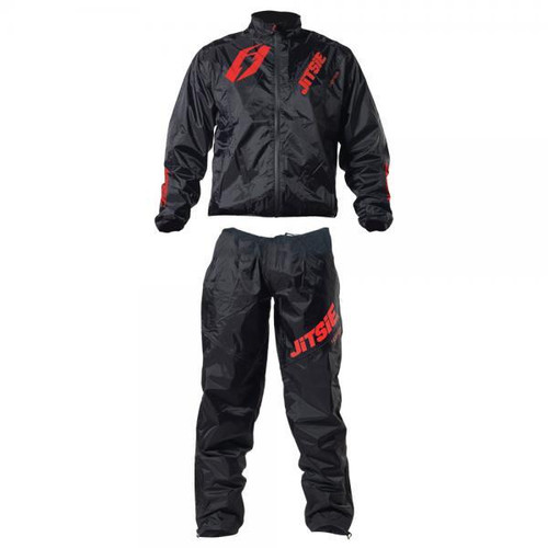Jitsie Pants Hopper 2 black/ red (JI14T2-1525)