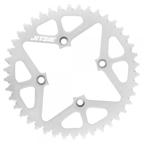 Rear sprocket silver