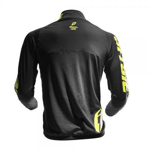 Jacket Signal Black/ Fluo Yellow back