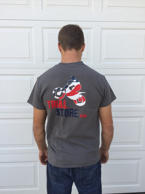 Trial Store USA T-shirt , back
