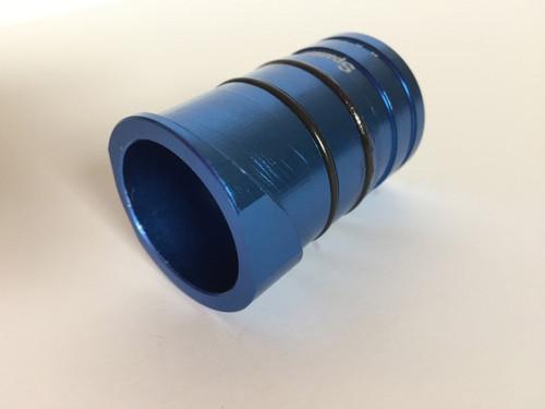 Sherco/ scorpa spark arrestor insert back, blue