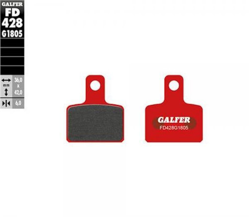 Galfer brake pads rear for Beta