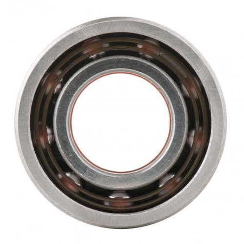 Crankshaft bearing with oil seal with PTFE lip, front