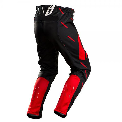 Pants L3 Domino, black/ red/white