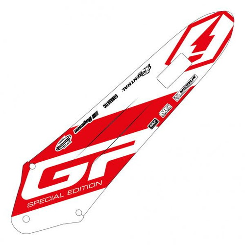 Rear mud guard sticker Gas Gas TXT GP 2018