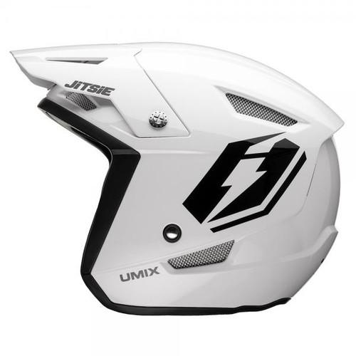 HT1 Umix helmet, white/ black