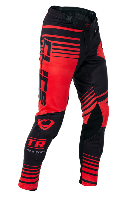 2019 Clice men's Zone trial pants, red/black