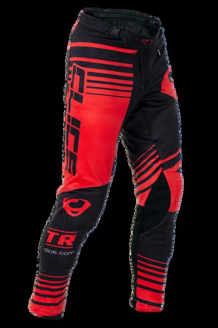 2019 Clice men's Zone trial pants, red/black