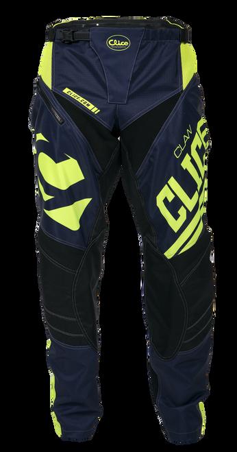 2019 Clice Claw Enduro-MX Pants, blue/ fluor