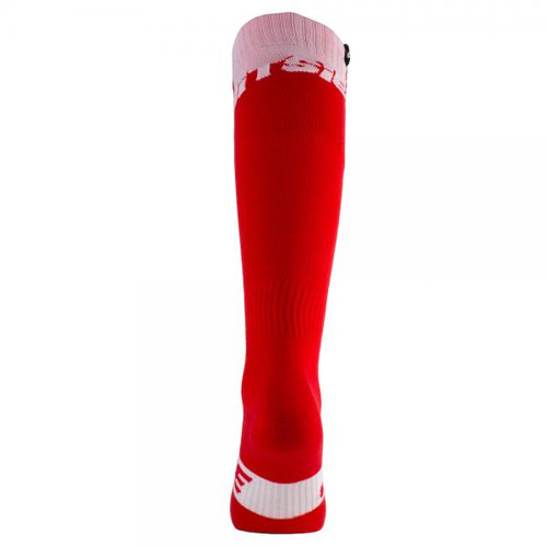 Jitsie long sock in red/ white