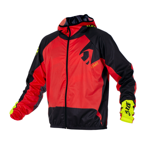 Clice lightweight waterproof jacket, red