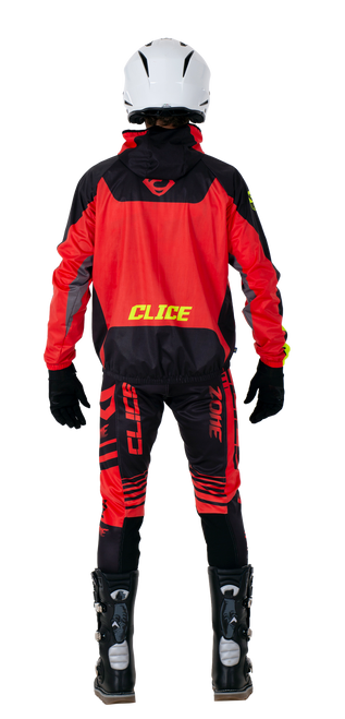 Clice lightweight waterproof jacket, red