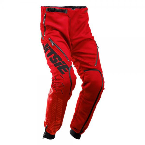 Pants 01 Omnia Solid, red/black