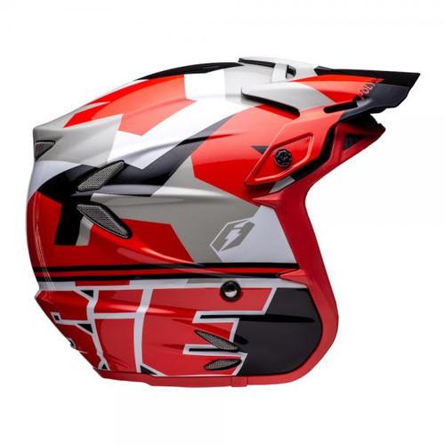 Helmet HT2 Polygon, black/red/white