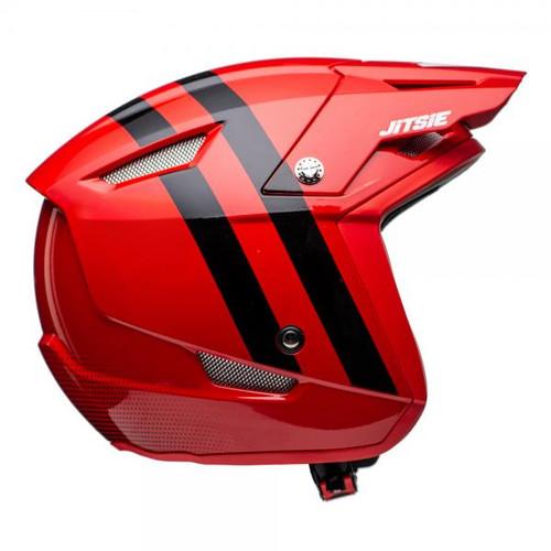 Helmet HT1 Voita red/black