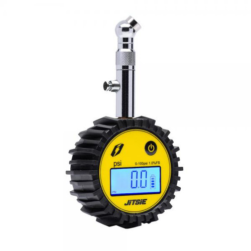Digital tire pressure meter with valve 0-100PSI