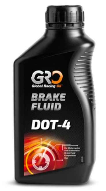 Brake Fluid DOT-4 synthetic fluid for brake systems