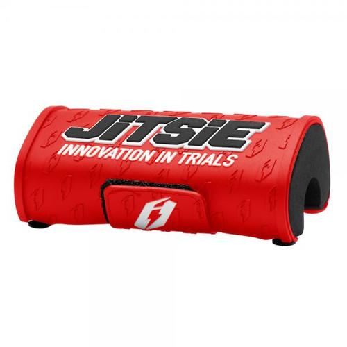 Handlebar pad 28.6mm red