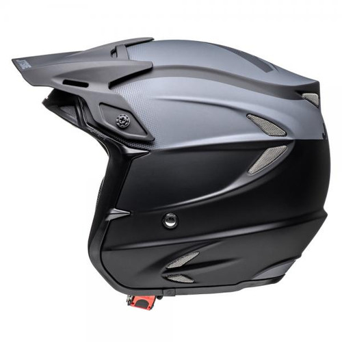 Helmet HT2 solid, black/ grey, fiberglass