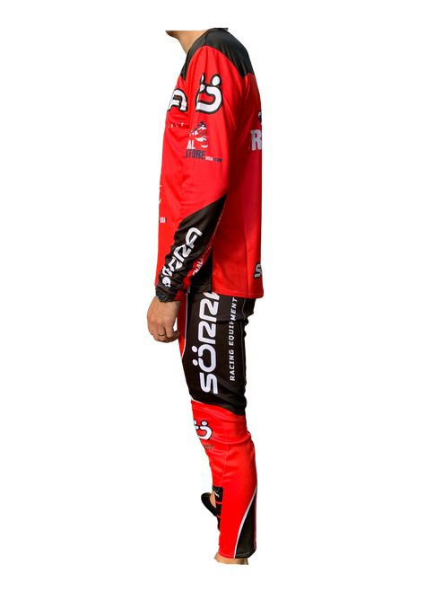 Jersey Gas Gas red/ black