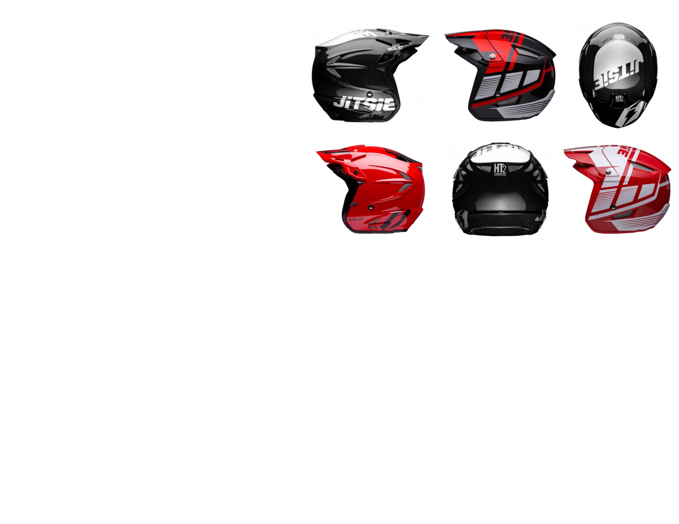 2019 HT2 L3 Triztan helmets