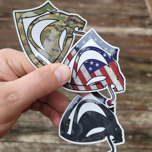 Kobra Sticker