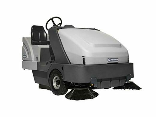 Advance Proterra 5130 Battery w/ Dust Guard Floor Sweeper