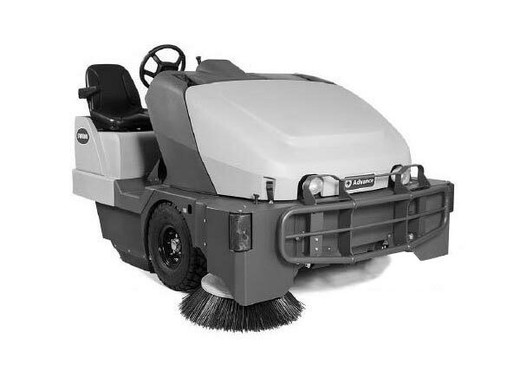 Advance SW8000 77 LPG w/ Dust Guard Rider Sweeper