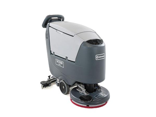 advance compact floor scrubber
