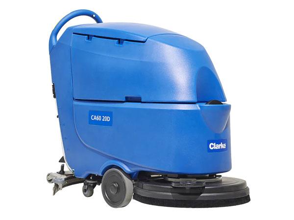 clarke compact floor scrubber