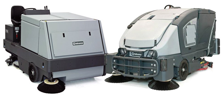 Combination Sweeper Scrubbers
