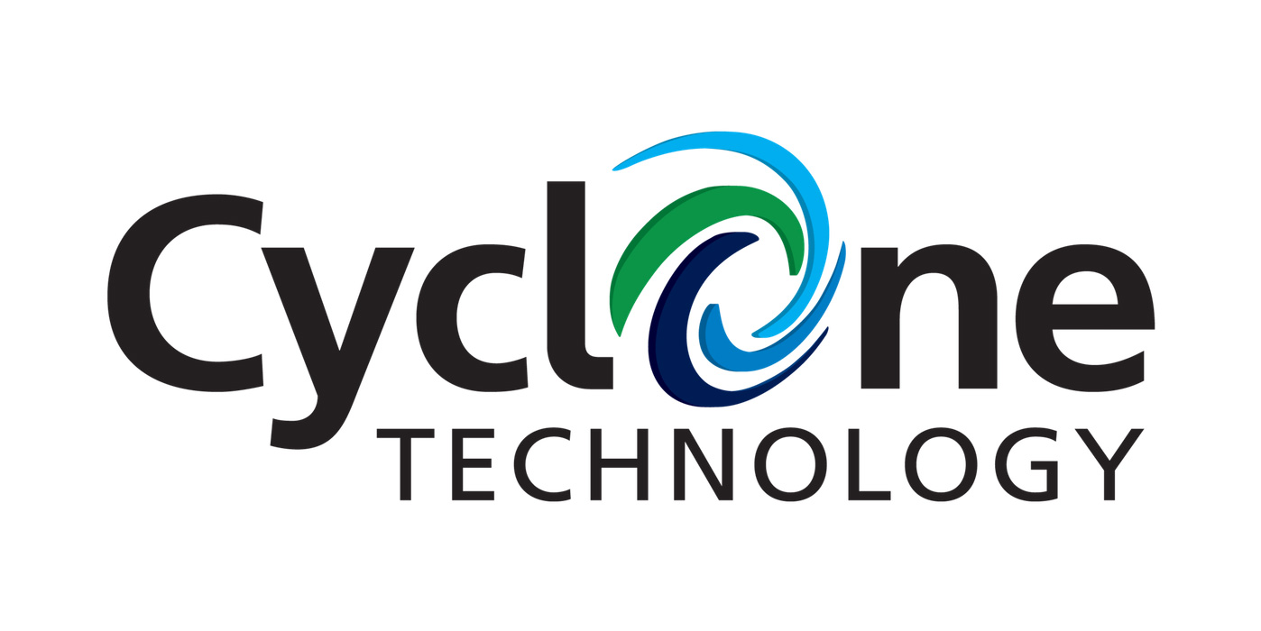 Cyclone cleaning technology logo