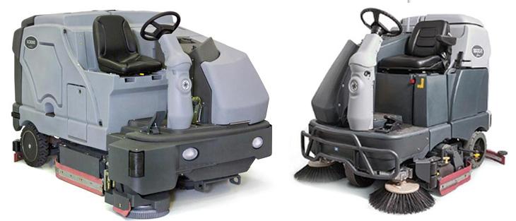 advane industrial rider scrubbers