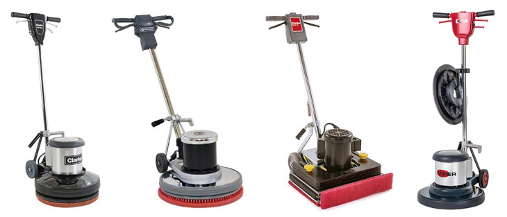 Low Speed Floor Machines on a white background