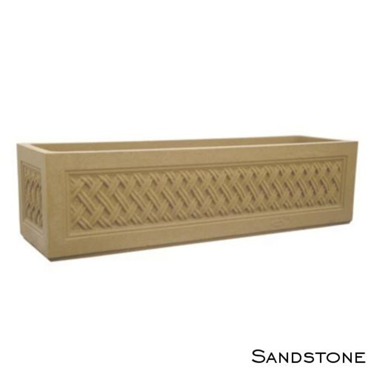 Sandstone Lattice Straight Trough