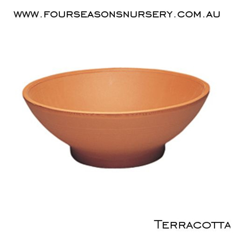 Terracotta Low Bowl