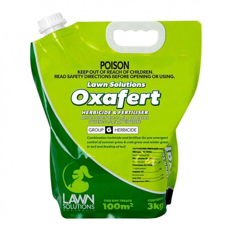 Oxafert Pre-Emergent & Lawn Fe 3kg