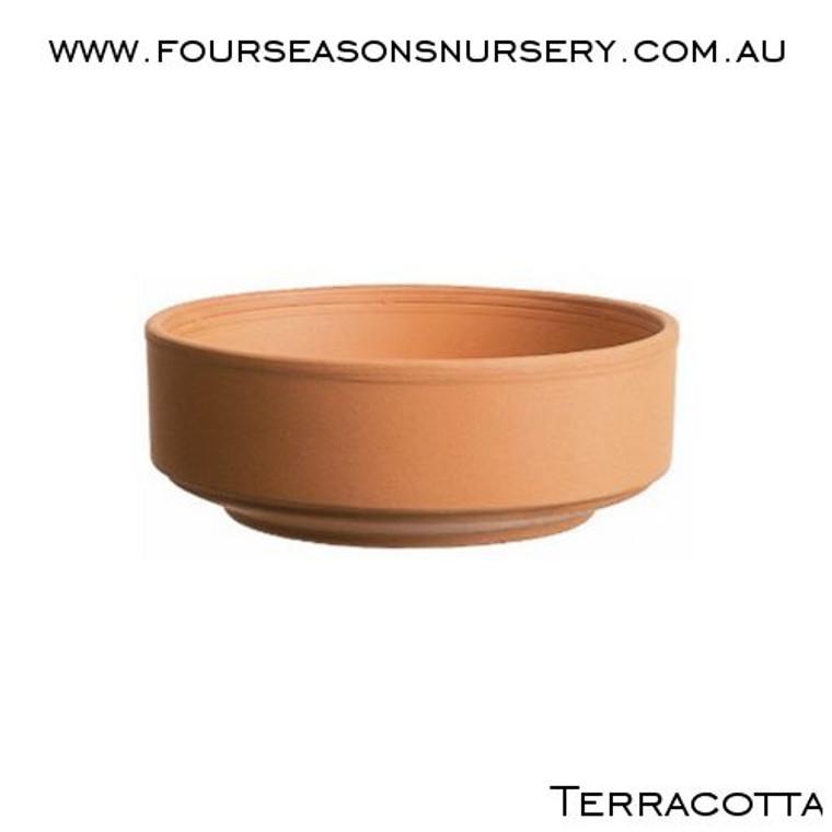 Terracotta Cylinder Bowl