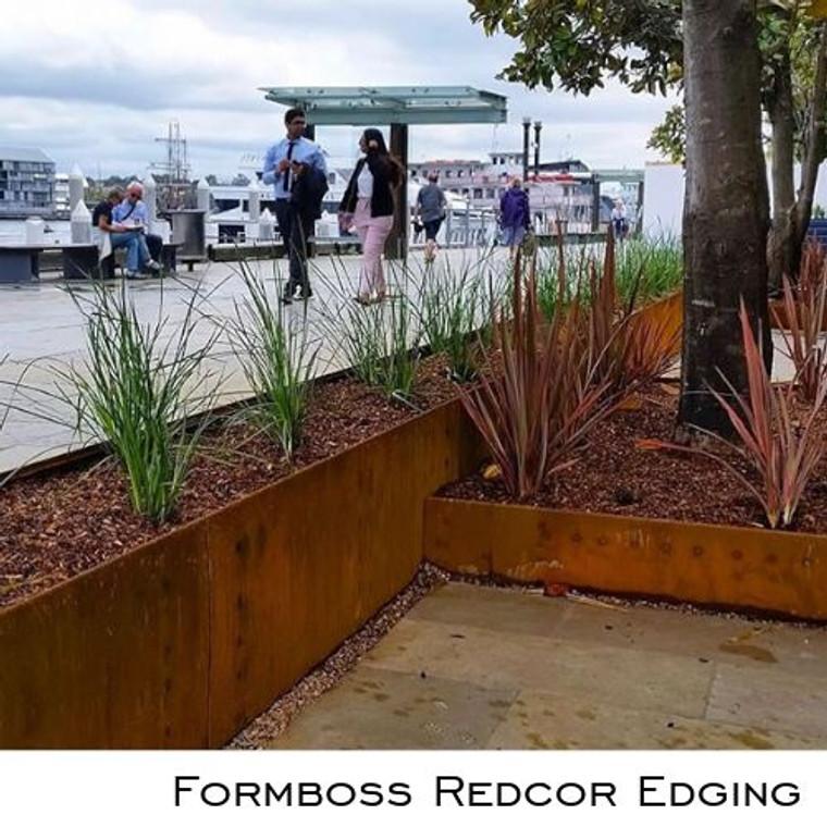 Formboss Redcor Edging
