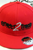 Street2Track Flex Fit Red hat