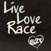Live Love Race - Grey