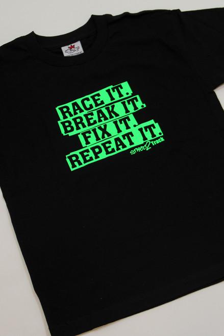 Race it. Break it. Fit it. Repeat it.